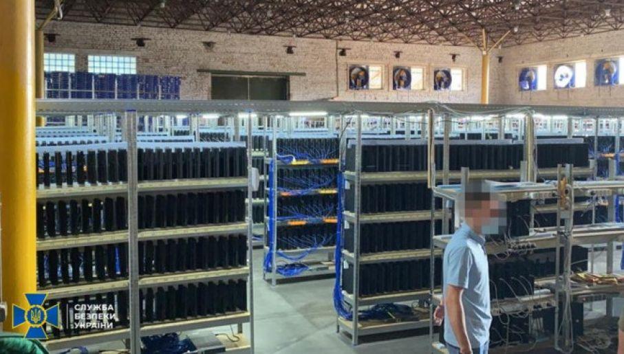 Minero de criptomonedas convertido en una granja de bots jugando FIFA Ultimate Team (Foto: Servicio de Seguridad de Ucrania)