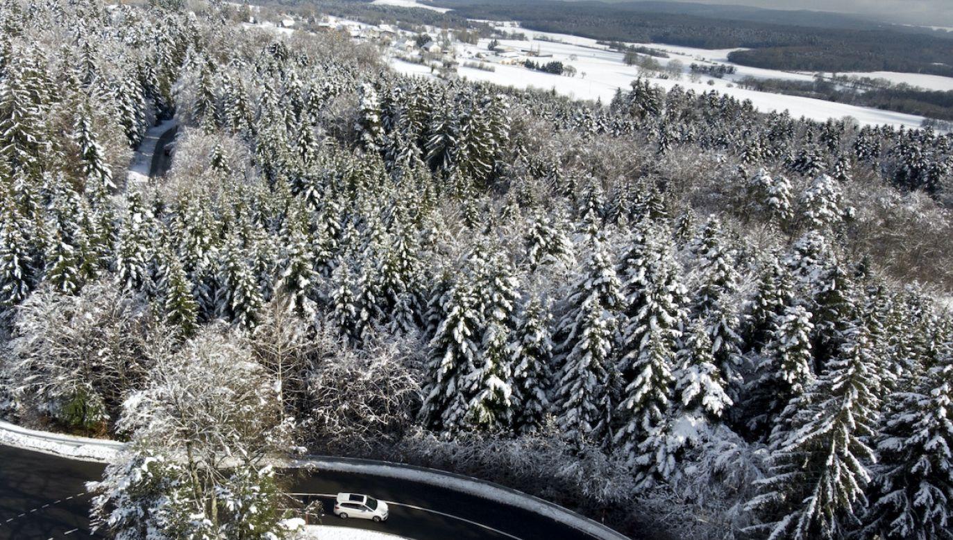 Na szlakach turystycznych jest ślisko (fot. PAP/EPA, zdjęcie ilustracyjne)