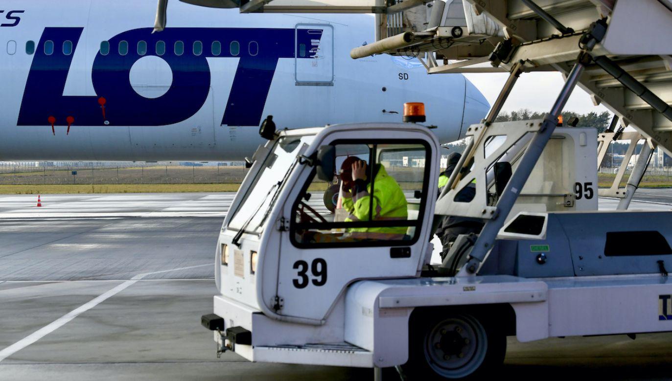 Czwartkowy lot do Tel Awiwu nie doszedł do skutku (fot. arch.PAP/Darek Delmanowicz)
