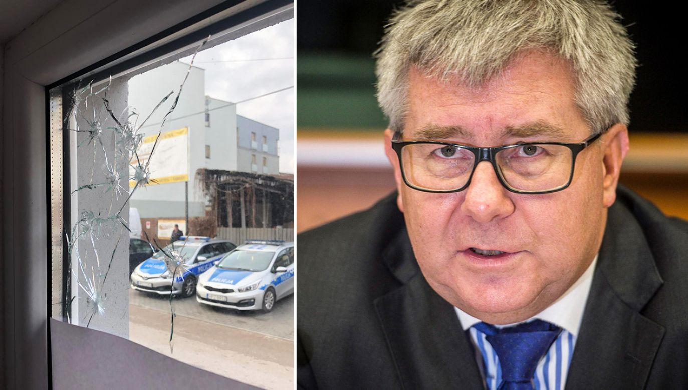 Europoseł PiS Ryszard Czarnecki (fot.  arch. PAP/Wiktor Dąbkowski, Twitter/Ryszard Czarnecki)