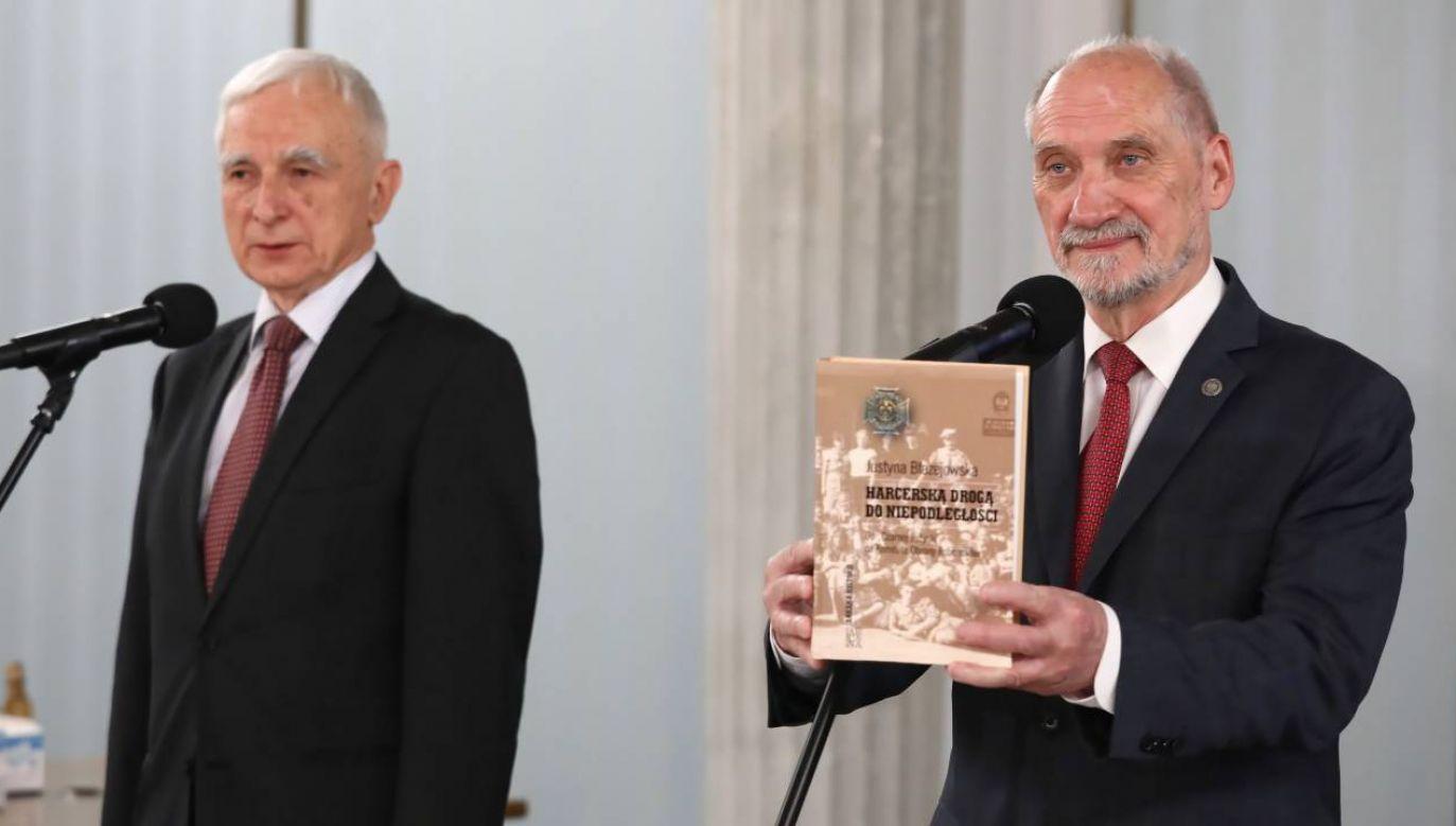Piotr Naimski i Antoni Macierewicz działali w KOR (fot. PAP/Tomasz Gzell)