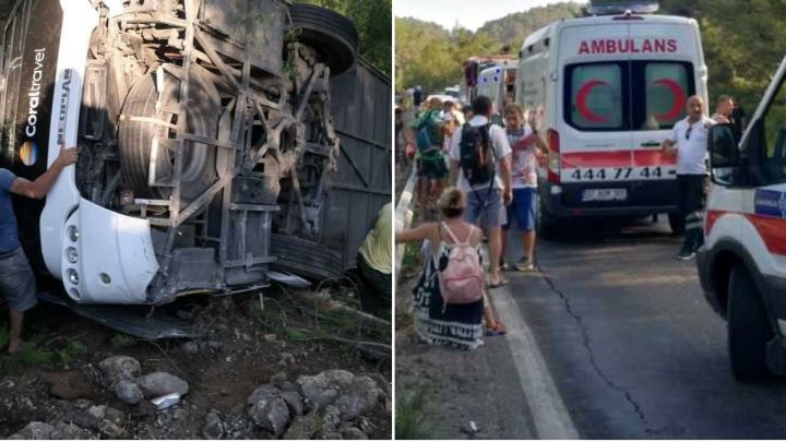 Number of Poles hospitalised following Turkey bus accident rises to