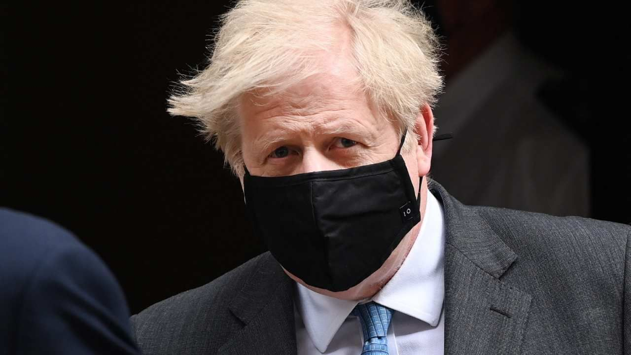Premier Boris Johnson (fot. PAP/EPA/ANDY RAIN)