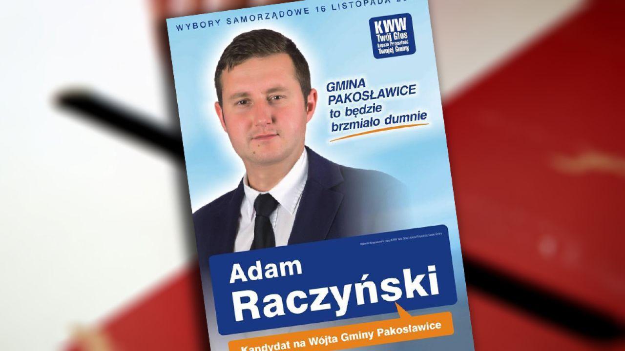 W wyborczym wyścigu na Opolszczyźnie padł remis. O wygranej Adama Raczyńskiego zdecydowało losowanie (fot. PAP/Adam Warżawa)