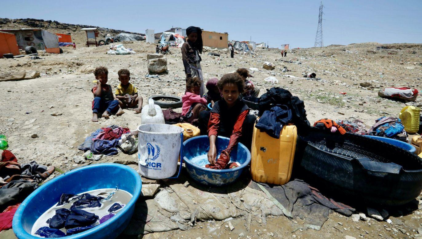Wojna w Jemenie to największy kryzys humanitarny tego wieku (fot. PAP/EPA/YAHYA ARHAB)