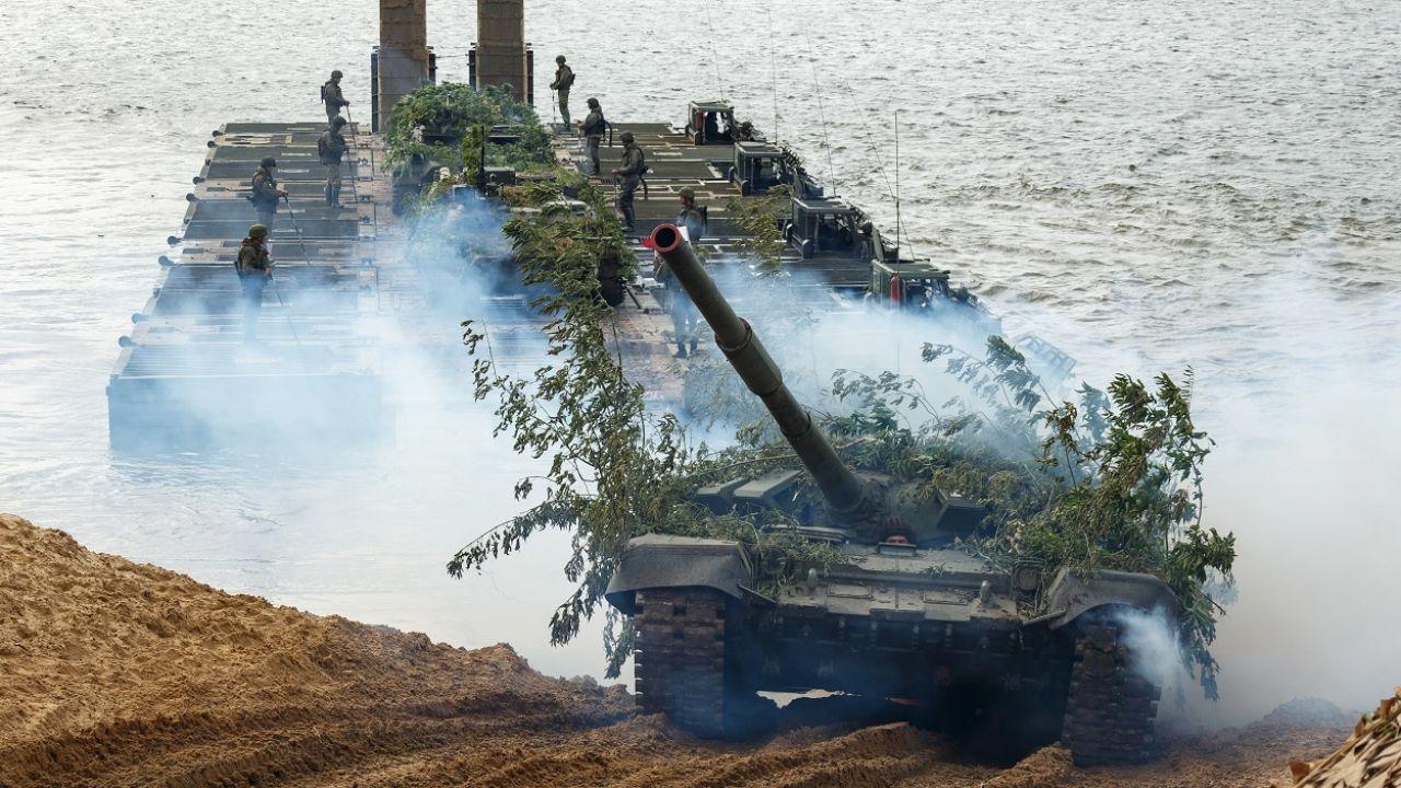 Żołnierze rosyjscy do końca września mają opuścić Białoruś (fot. PAP/EPA/Służby prasowe Ministerstwa Obrony Federacji Rosyjskiej)