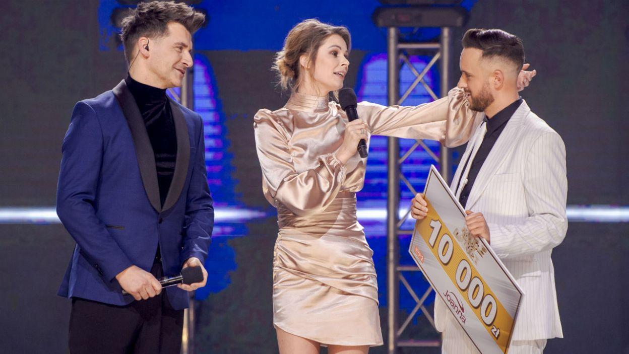 Z programem pożegnali się Małgosia i Olek (fot. TVP)