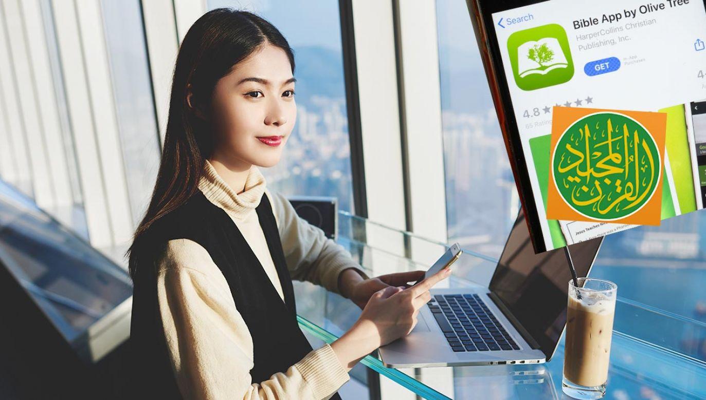 Aplikacja z tekstem Koranu ma w Chinach ponad milion użytkowników (fot. Shutterstock)