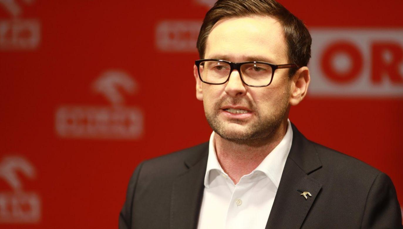 Prezes PKN Orlen Daniel Obajtek (fot. arch. PAP/Szymon Łabiński)