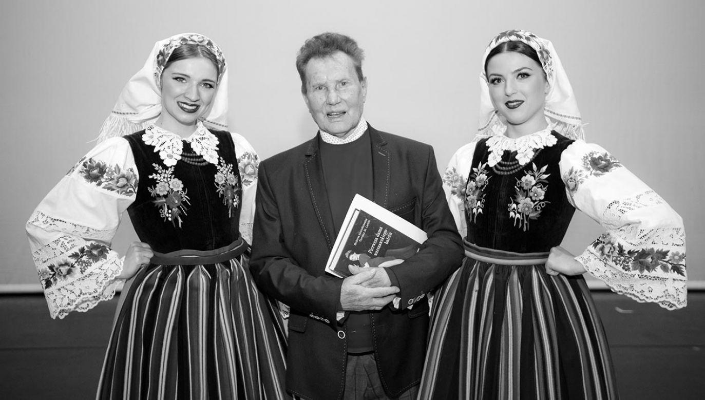 Był autorem większości choreografii, na których do dziś oparty jest program artystyczny zespołu  (fot. Facebook/Mazowsze)