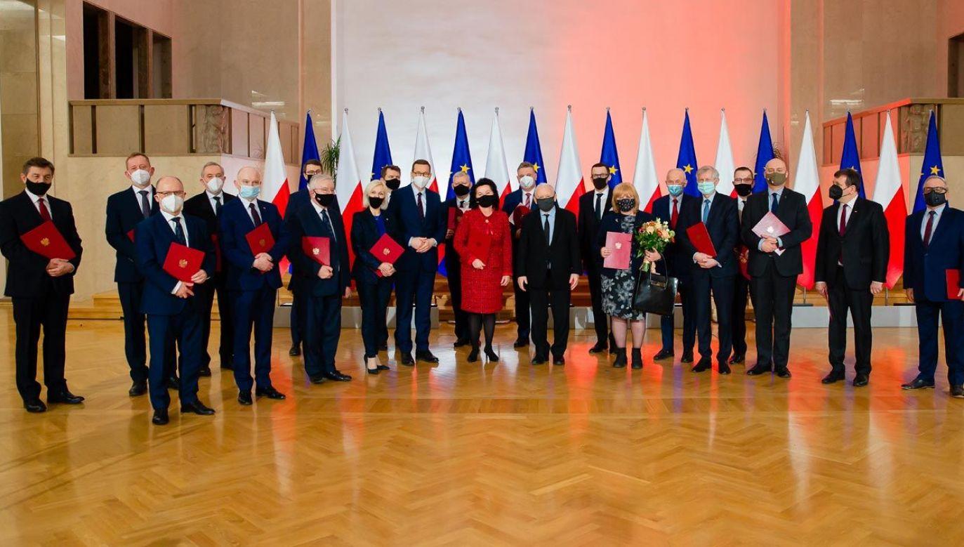 Premier powołał Radę Doradców Politycznych   (fot. KPRM)