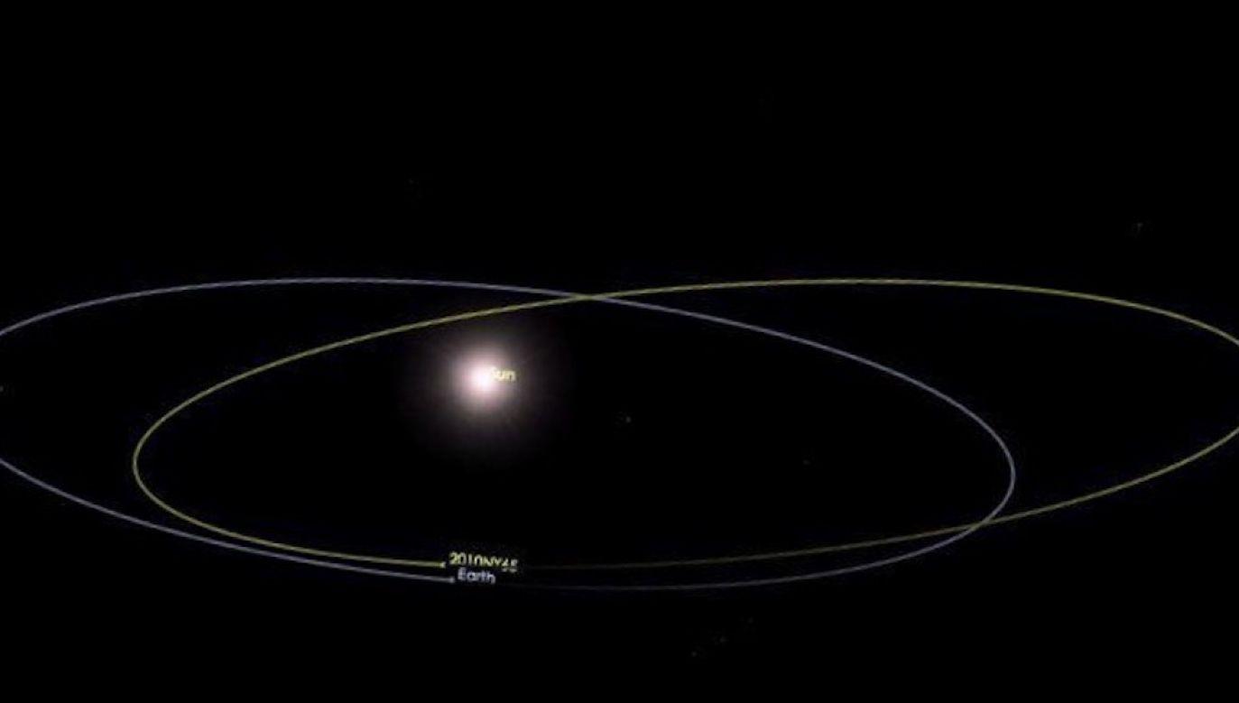Okres obiegu planetoidy dookoła Słońca jest prawie taki sam jak Ziemi (fot. NASA)