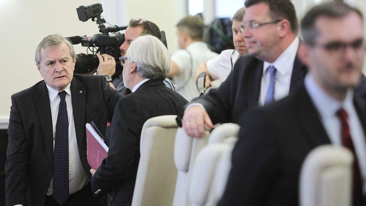 Zadowolenie z tego, że premierem jest Mateusz Morawiecki wyraziło we wrześniu 50 proc. ankietowanych (fot. PAP/Wojciech Olkuśnik)