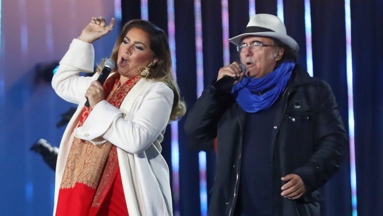 Al Bano i Romina Power udowodnili, że cały czas są w najwyższej formie (fot. PAP/Grzegorz Momot)