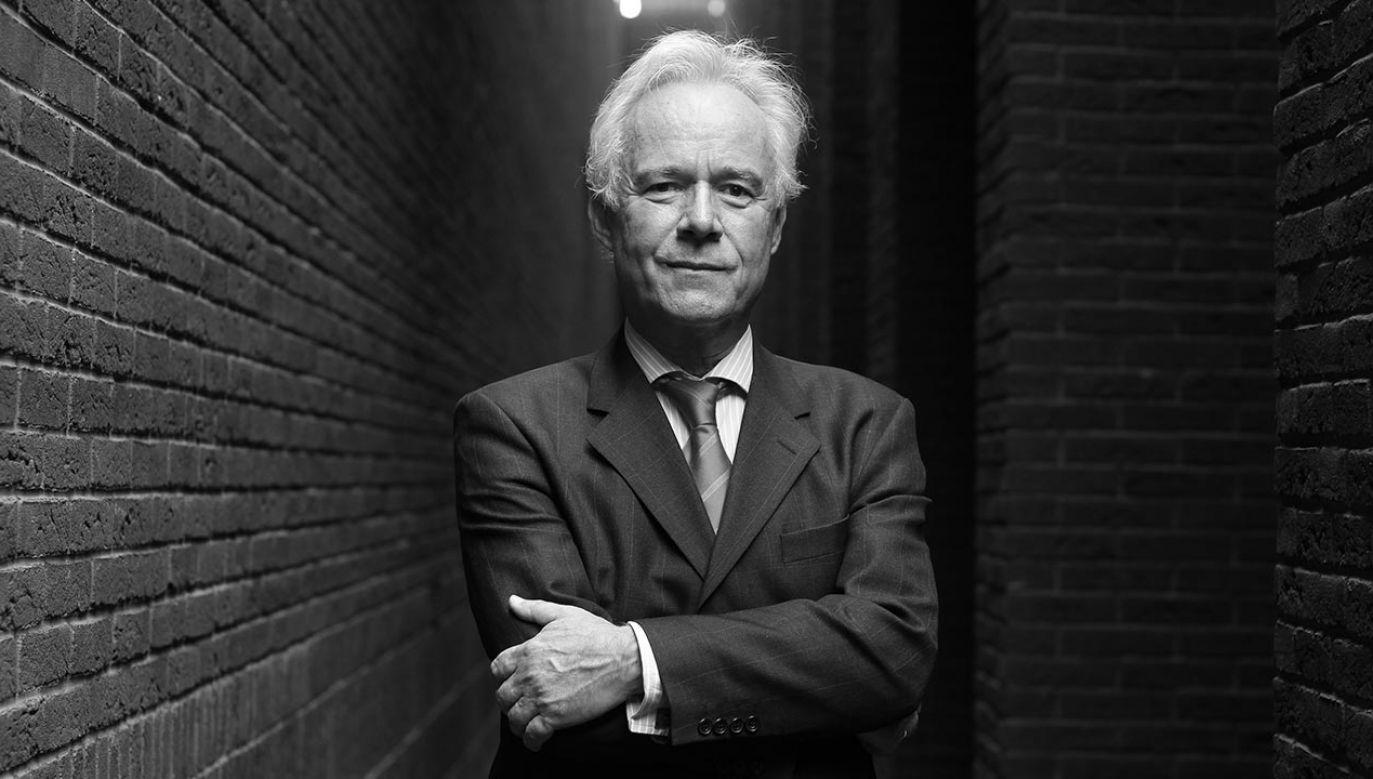 Profesor Jerzy Limon (fot. PAP/Piotr Wittman)