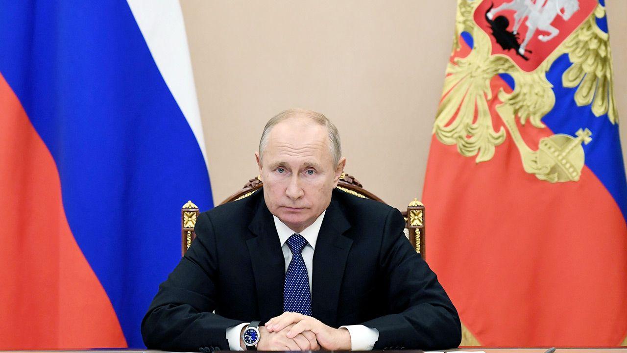 Prezydent Rosji Władimir Putin (fot.  Sputnik/Aleksey Nikolskyi/Kremlin via REUTERS)