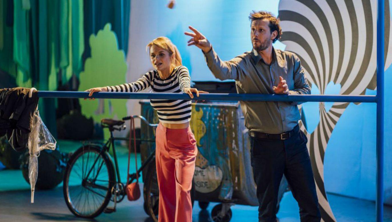 Sztuka to również popis wokalnych i aktorskich umiejętności znakomitego duetu: Emilii Komarnickiej-Klynstra i Wojciecha Solarza (fot. TVP)