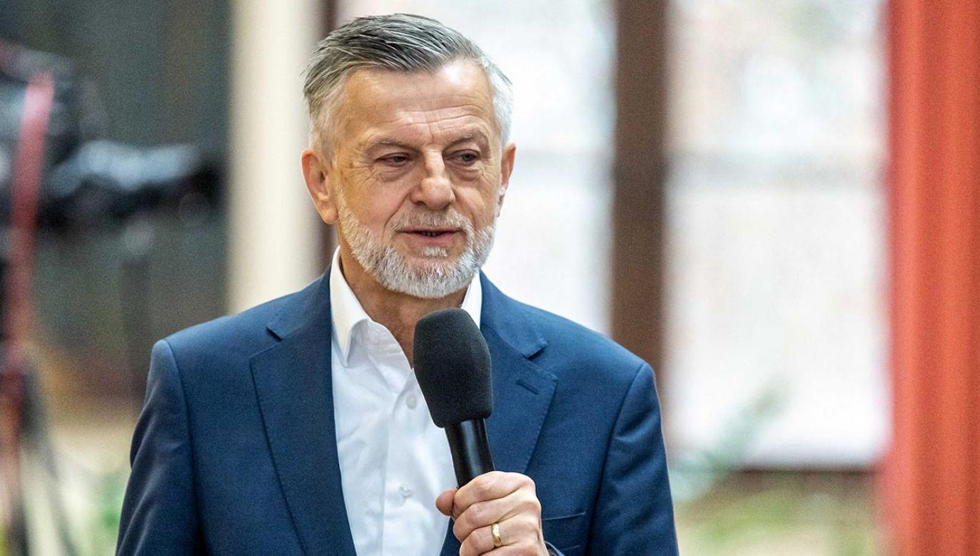Profesor Andrzej Zybertowicz (fot. PAP/Tytus Żmijewski)