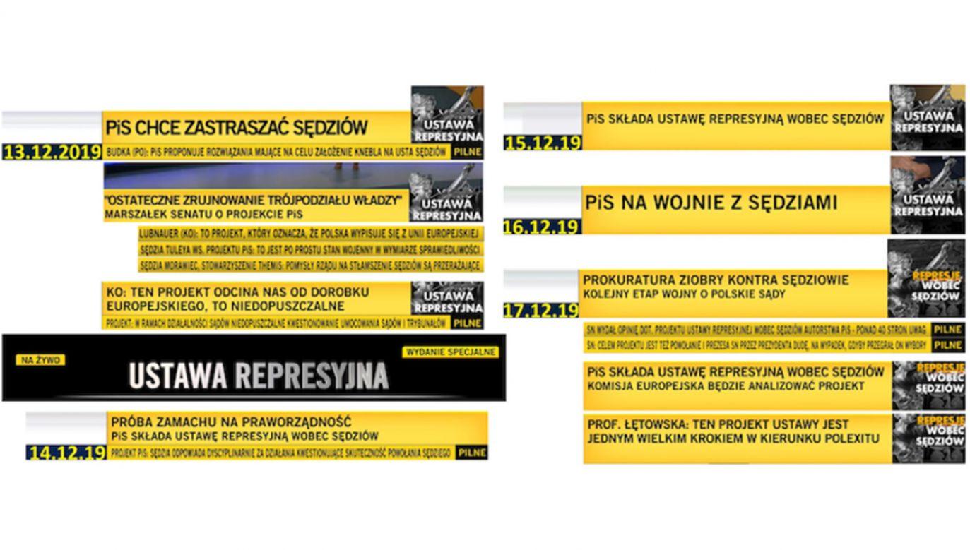Jeden z widzów złożył do Krajowej Rady Radiofonii i Telewizji skargę na treści emitowane w TVN24 (fot. screen)