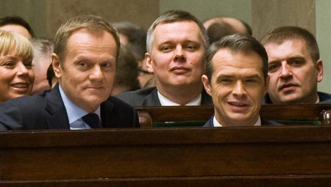 Były minister transportu w rządzie PO-PSL Sławomir Nowak (fot. Forum/Adam Chelstowski)