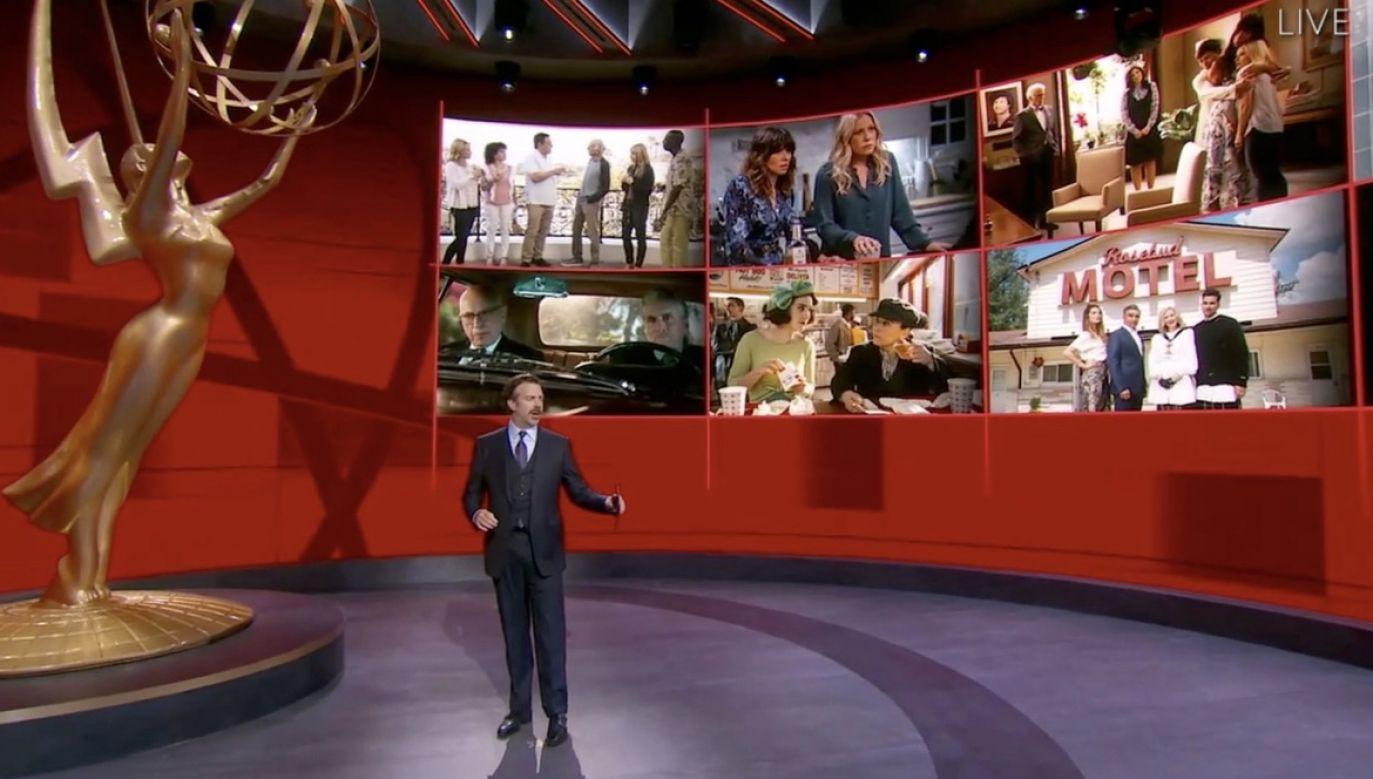 Najwięcej statuetek zdobyły produkcje HBO (fot. PAP/EPA/EMMY AWARDS/HANDOUT)