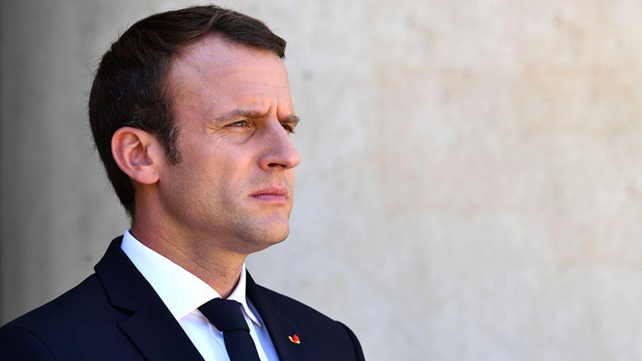 Prezydent Francji traci poparcie (fot. Mustafa Yalcin/Anadolu Agency/Getty Images)