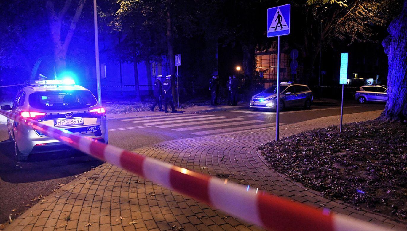Policja wyjaśnia okoliczności zdarzenia (fot. arch.PAP/Jacek Bednarczyk)