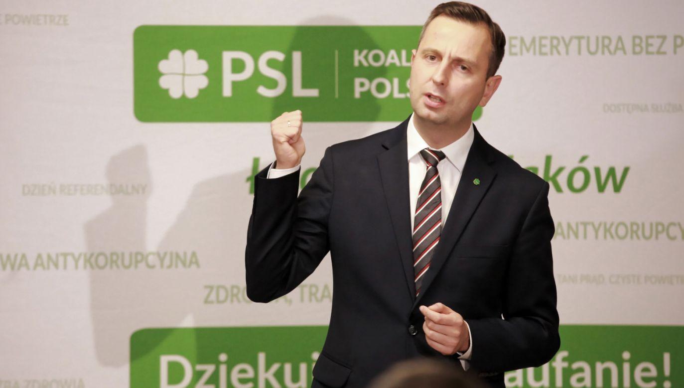 W ocenie Jan Kanthaka Kosiniak-Kamysz nie odcina się od środowisk LGBT (fot. PAP/Piotr Augustyniak)