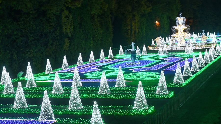 Królewski Ogród światła Przy Pałacu W Wilanowie Tvp3
