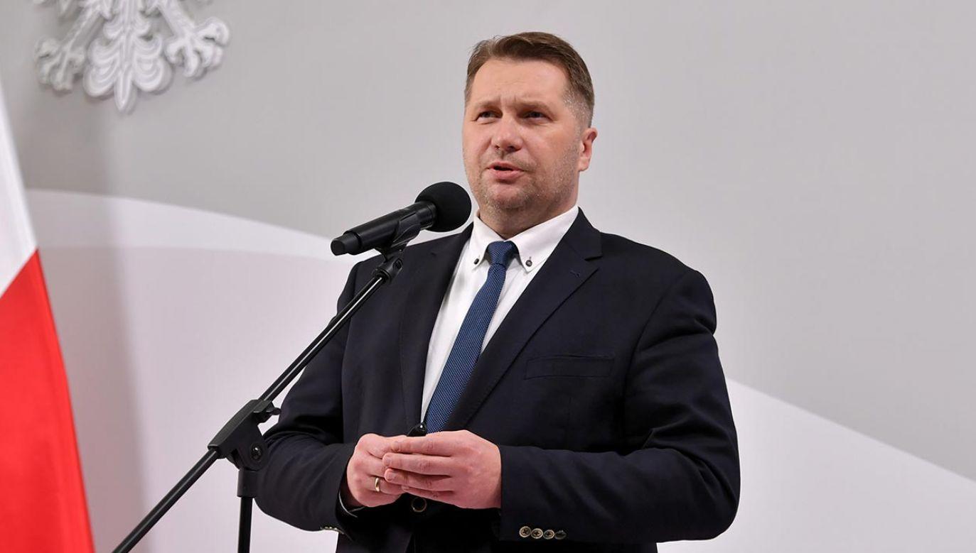 Przemysław Czarnek  (fot.  PAP/Piotr Nowak)