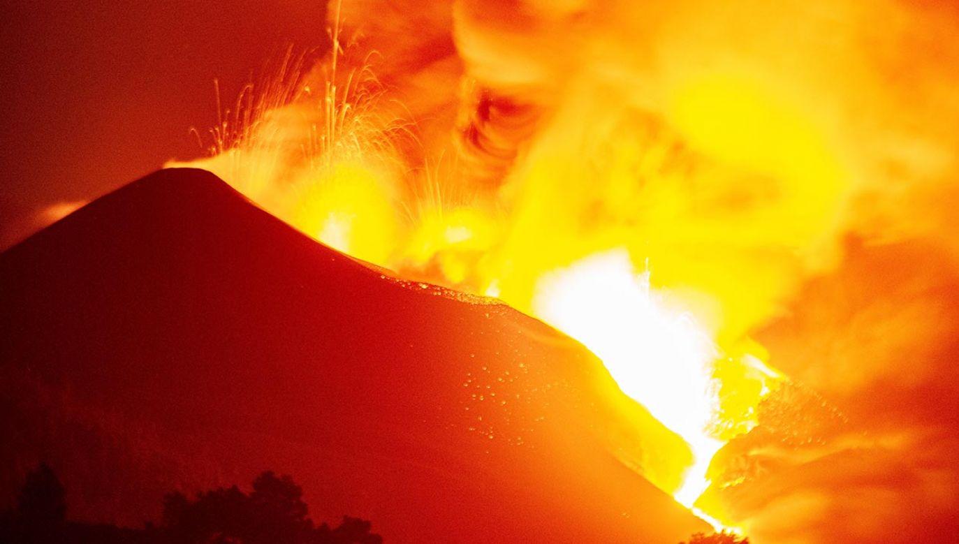 Cumbre Vieja  (fot. PAP/EPA/MIGUEL CALERO)