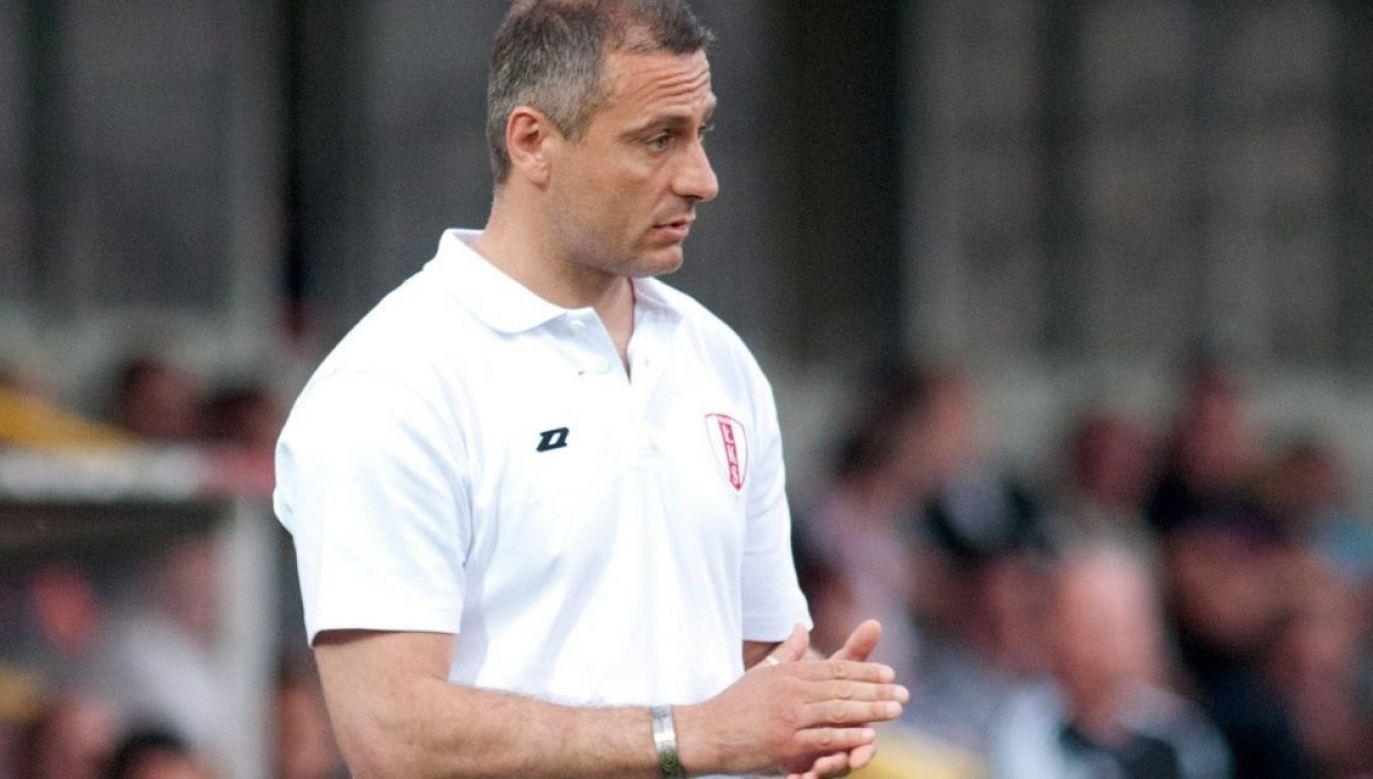 Piotr Świerczewski został trenerem Sandecji Nowy Sącz (fot. PAP/Grzegorz Michałowski)