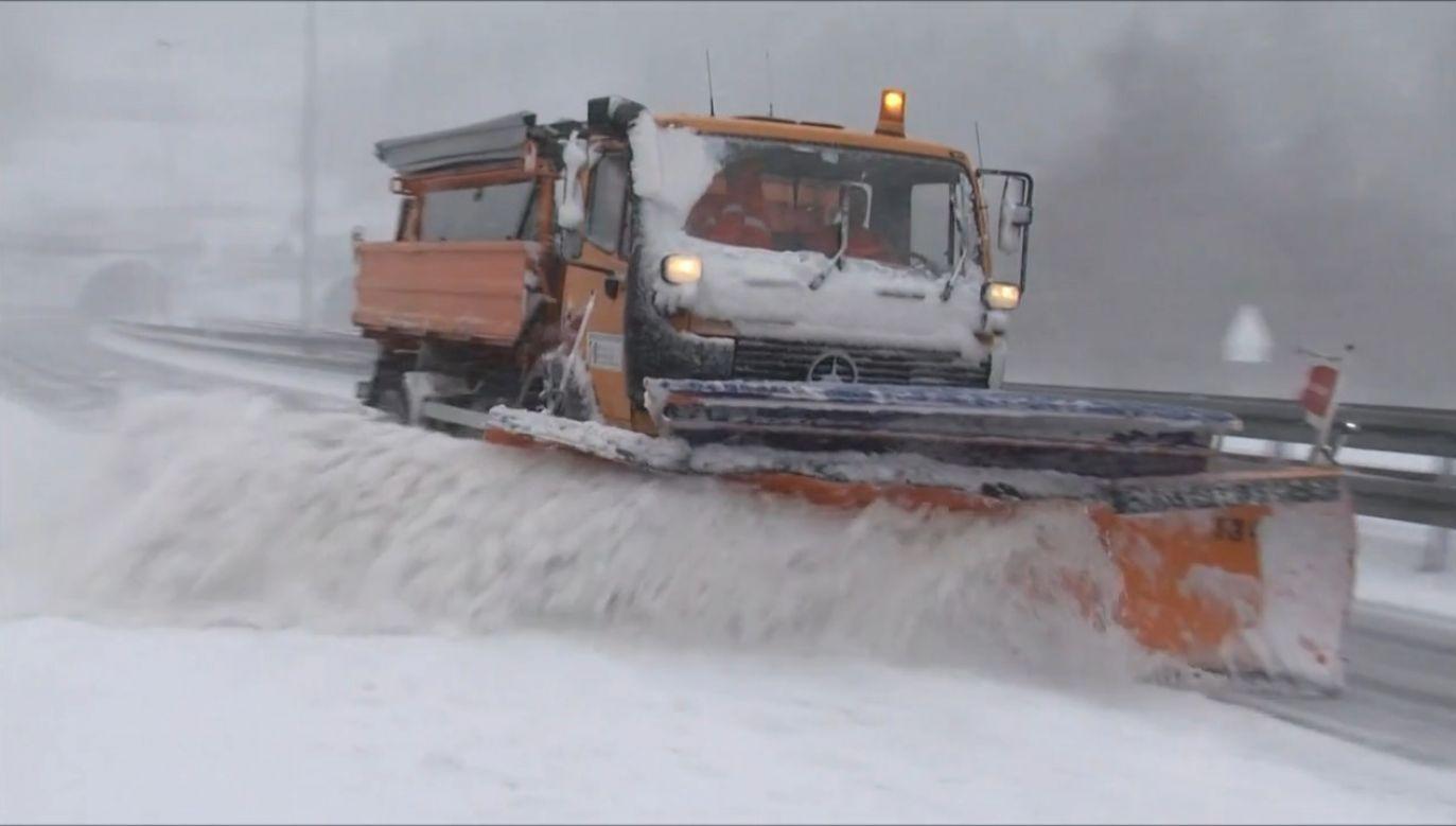 Śnieg zasypał ponownie Chorwację (fot. EBU/HRVATSKA RADIOTELEVIZIJA)