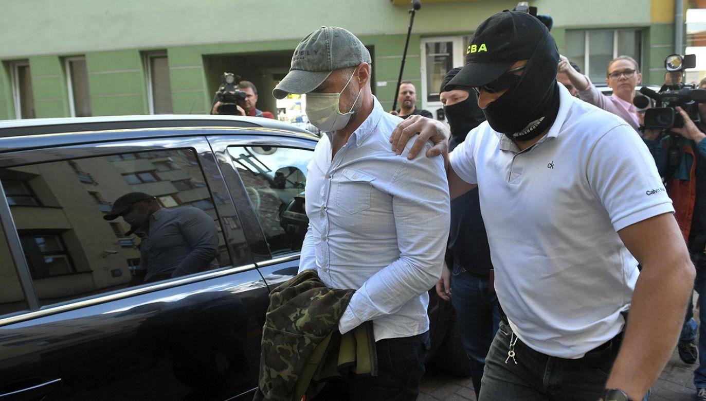 Nowak pozostaje w areszcie, gdzie przebywa od zatrzymania przez CBA (fot. PAP/Radek Pietruszka)