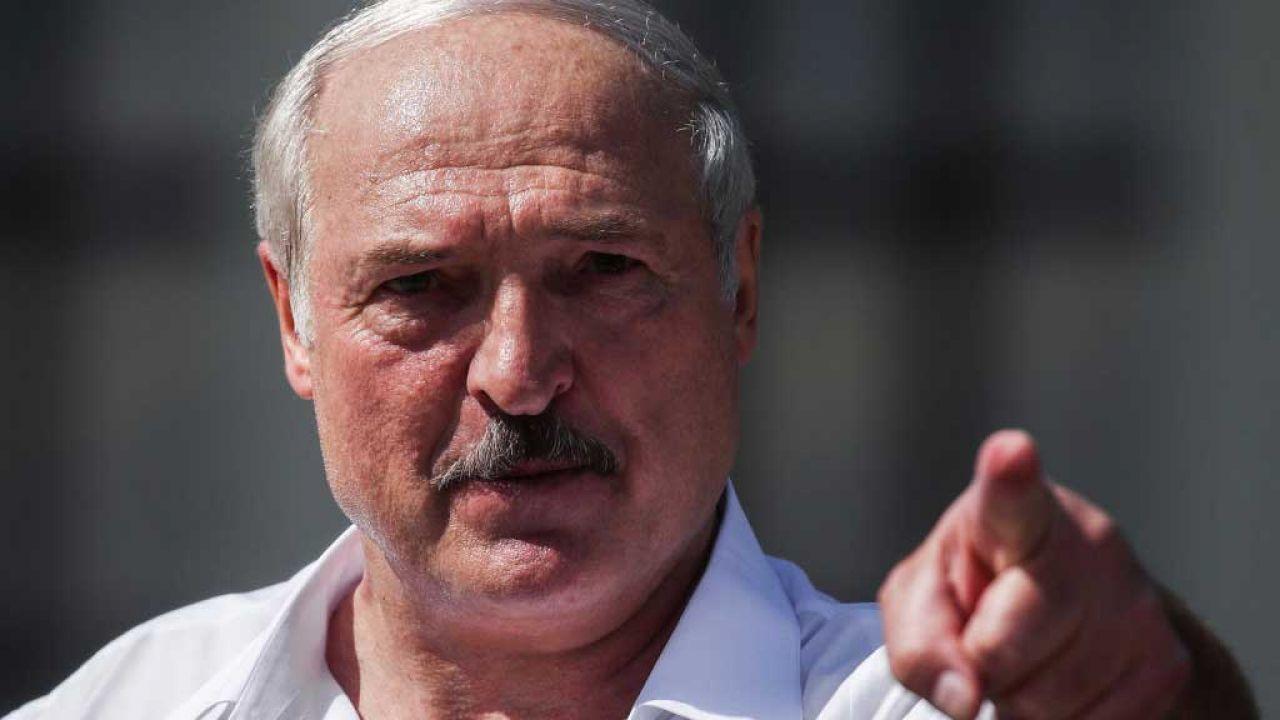 Aleksandr Łukaszenka atakuje Polskę i sąsiadów Białorusi (fot. Valery Sharifulin\TASS via Getty Images)