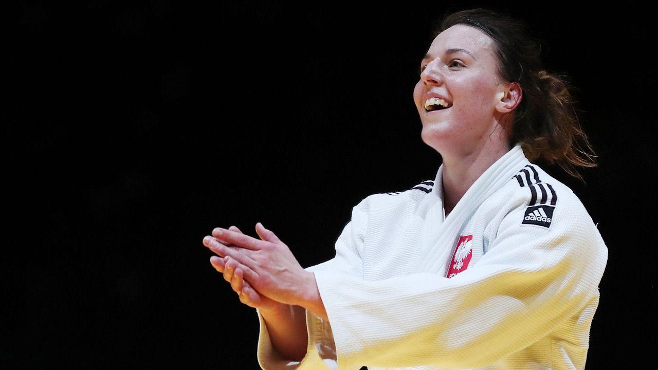 Beata Pacut została mistrzyniąEuropy w judo (fot. PAP/EPA/NUNO VEIGA)