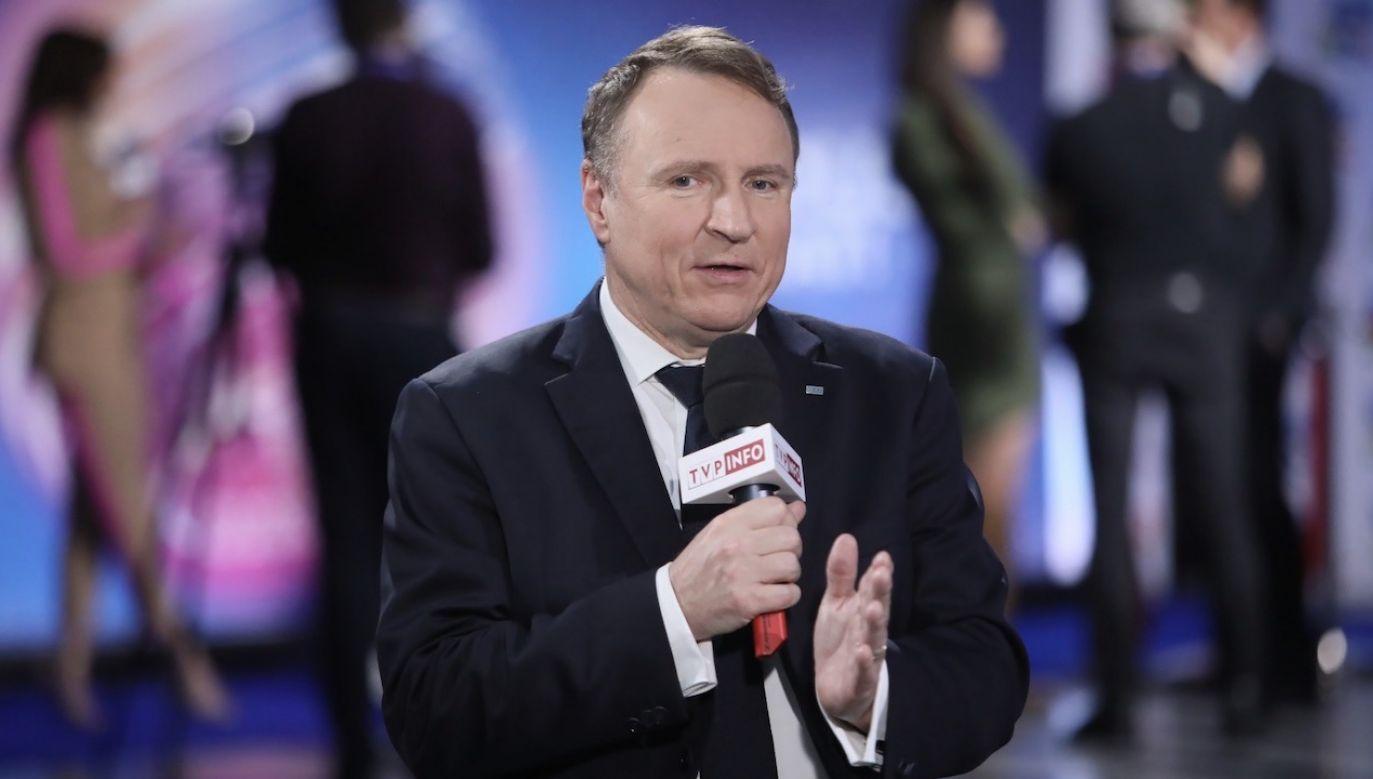 Prezes TVP wziął udział w konferencji zorganizowanej w związku z finałem Eurowizji Junior 2020 (fot. PAP/Leszek Szymański)