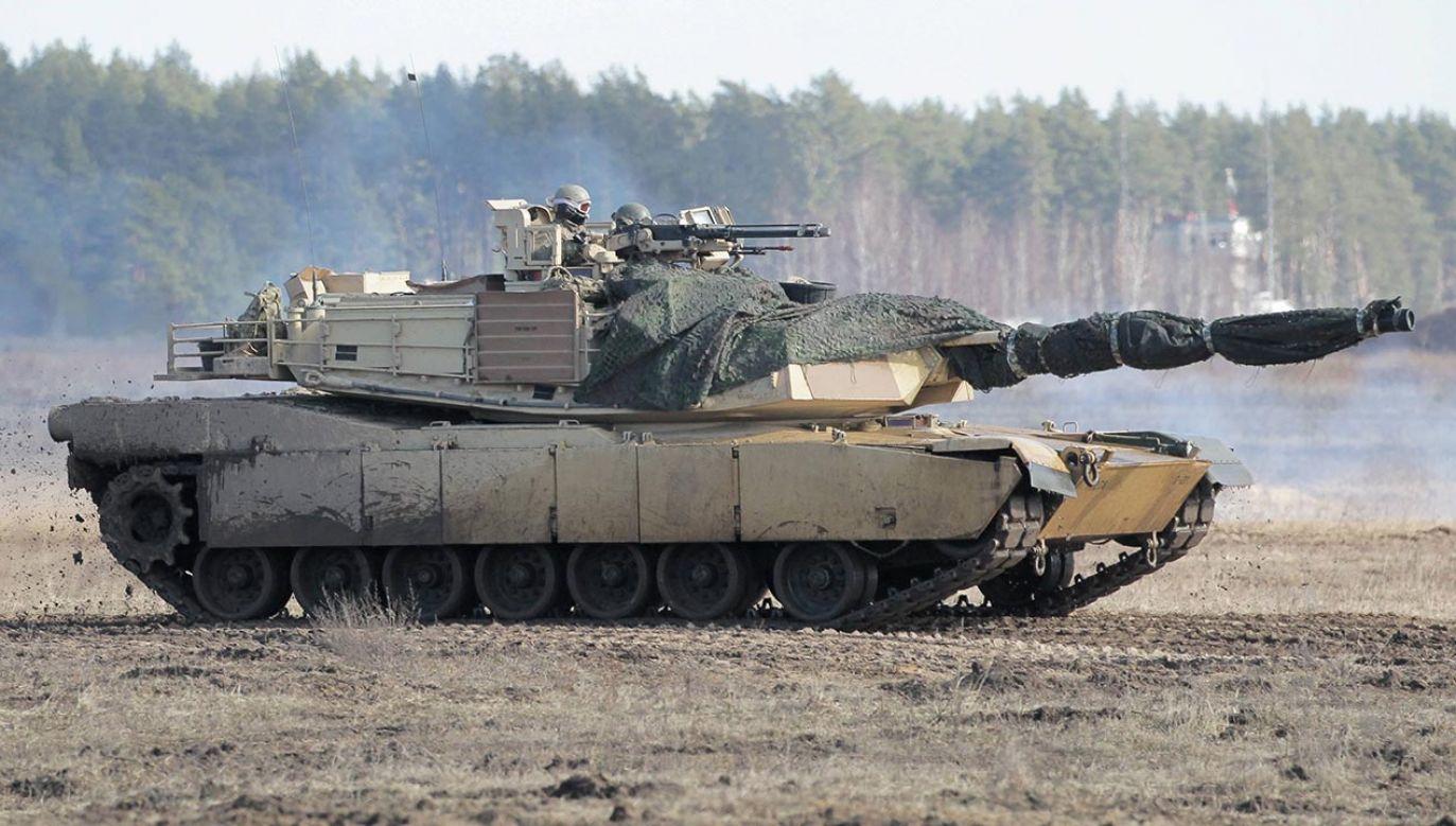 Polska kupiła 250 amerykańskich czołgów Abrams (fot. PAP/Tomasz Waszczuk)