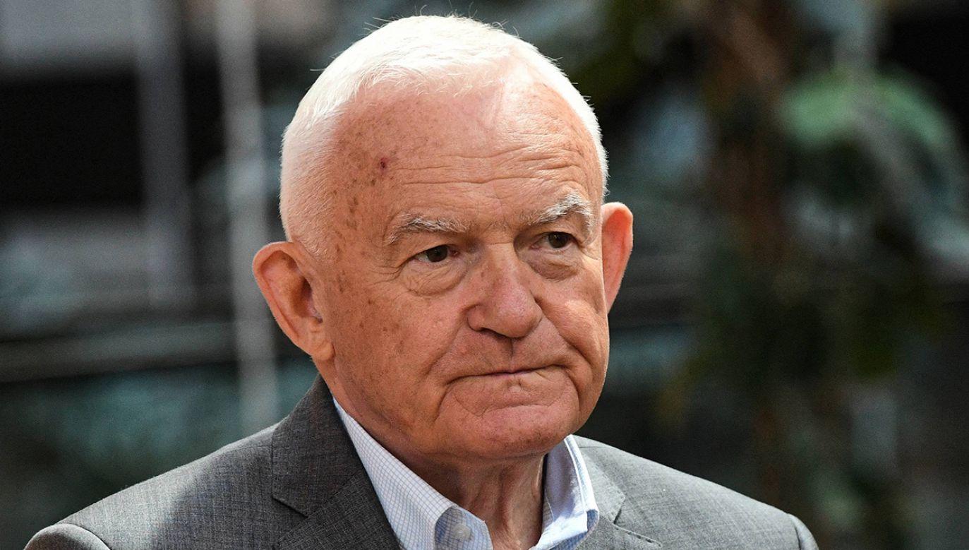 Były premier odniósł się do nagrań jego rozmowy z biznesmenem Janem Kulczykiem (fot. arch. PAP/Radek Pietruszka)