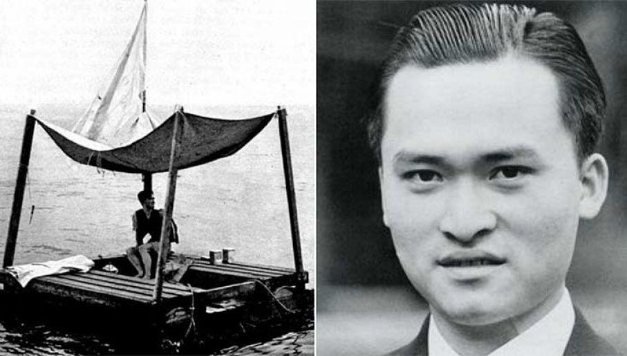 Poom Lin przeżył 133 dni na tratwie, cudem przeżył (fot. Wiki/US Navy)