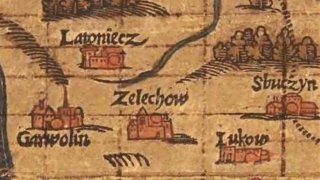 Zamek w Żelechowie był siedzibą rodową możnowładczego rodu Ciołków (fot. YT/ZSPZelechow)