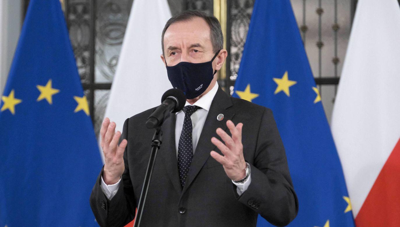 Marszałek Senatu Tomasz Grodzki (fot. arch. PAP/Mateusz Marek)