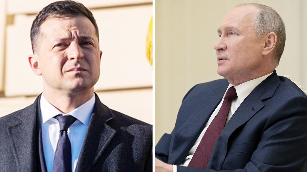 Prezydent Ukrainy i Rosji. Czy dojdzie do spotkania w cztery oczy? (fot. Getty Images)