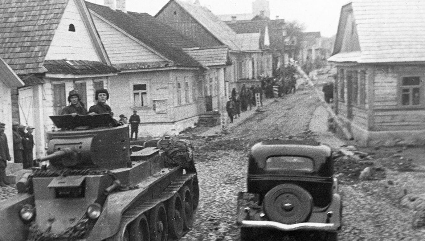 Rosja wciąż uważa, że Armia Czerwona niosła wyzwolenie (fot. Sovfoto/Universal Images Group via Getty Images)