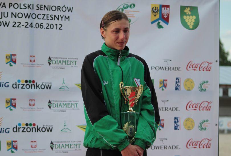 Sylwia Gawlikowska to nasza najlepsza pięcioboistka (fot. pentathlon.org.pl)