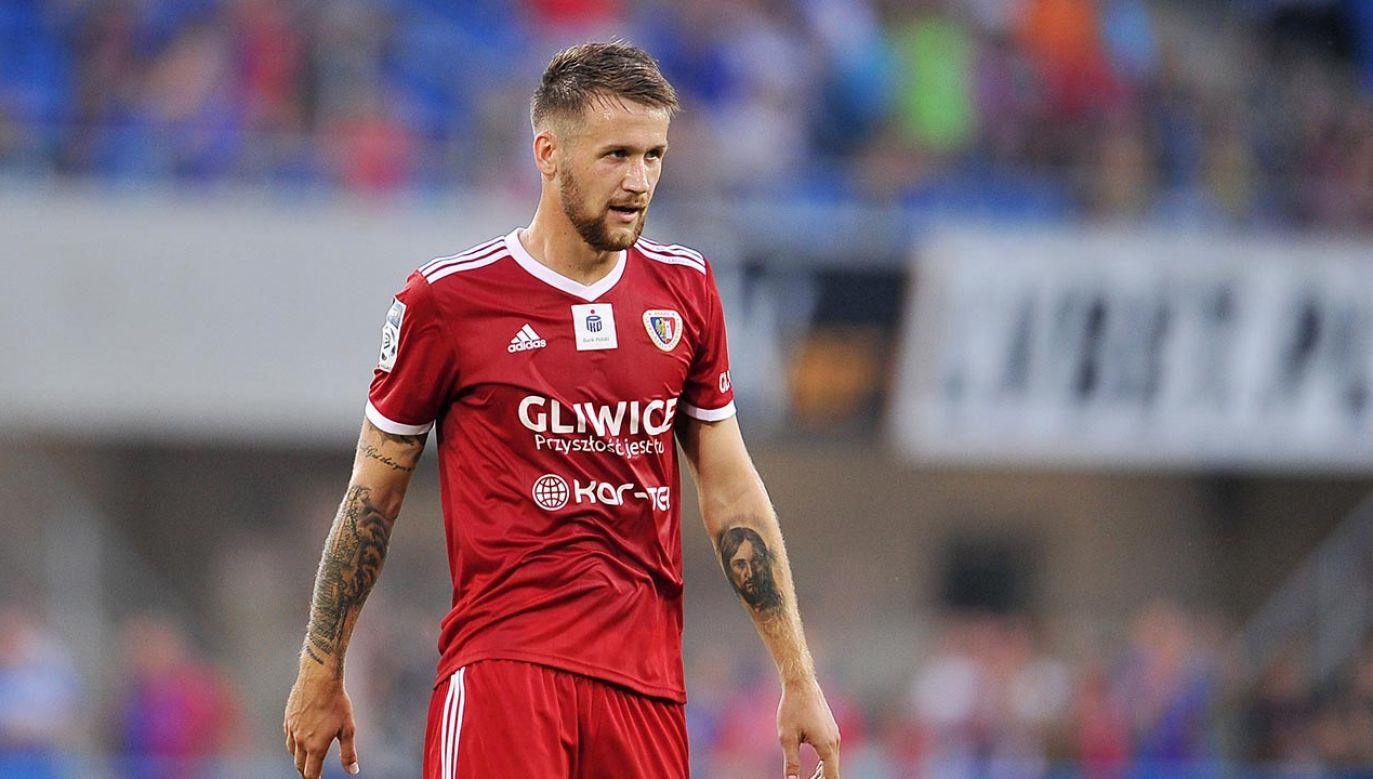 Piotr Parzyszek był piłkarzem Piasta od lipca 2018 roku (fot. PressFocus/MB Media/Getty Images)