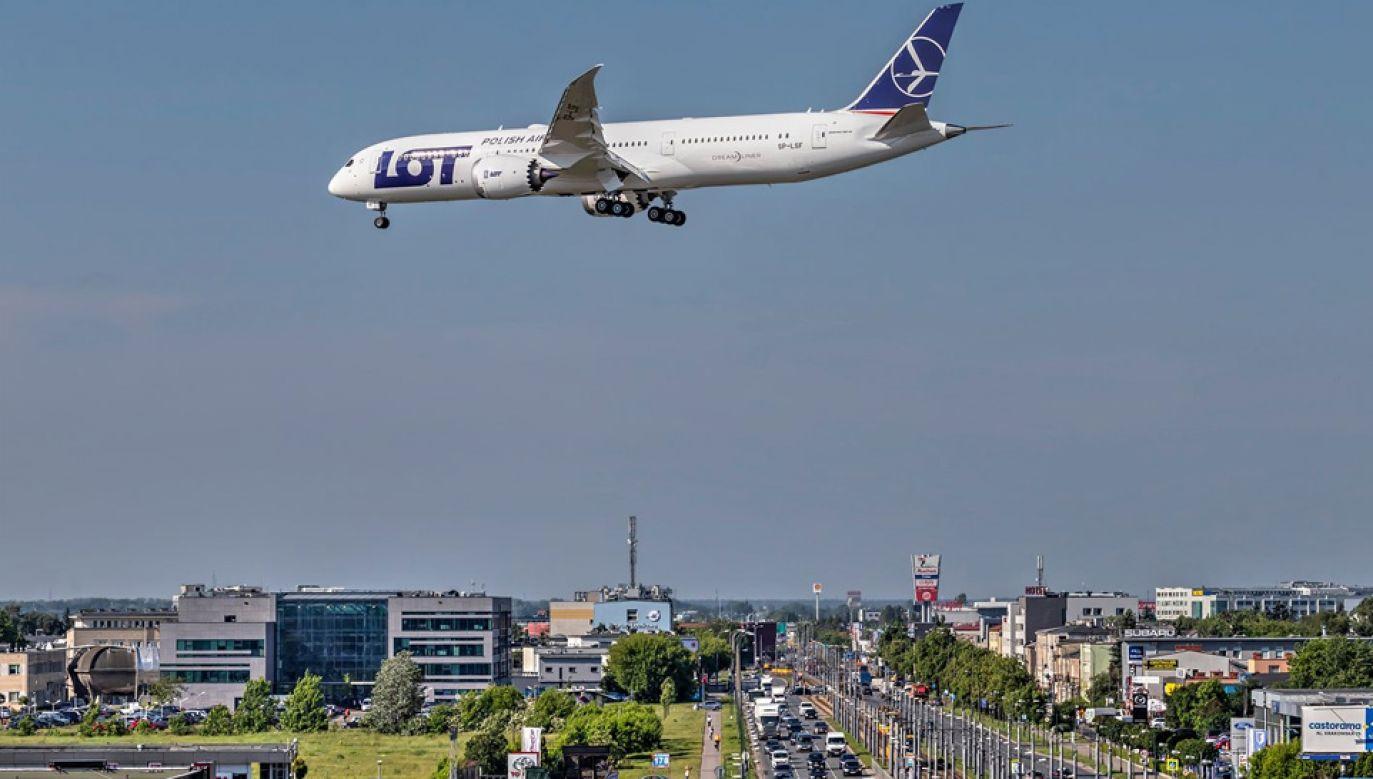 W ubiegłym roku LOT przewiózł 8,9 mln pasażerów (fot. mat.pras.)