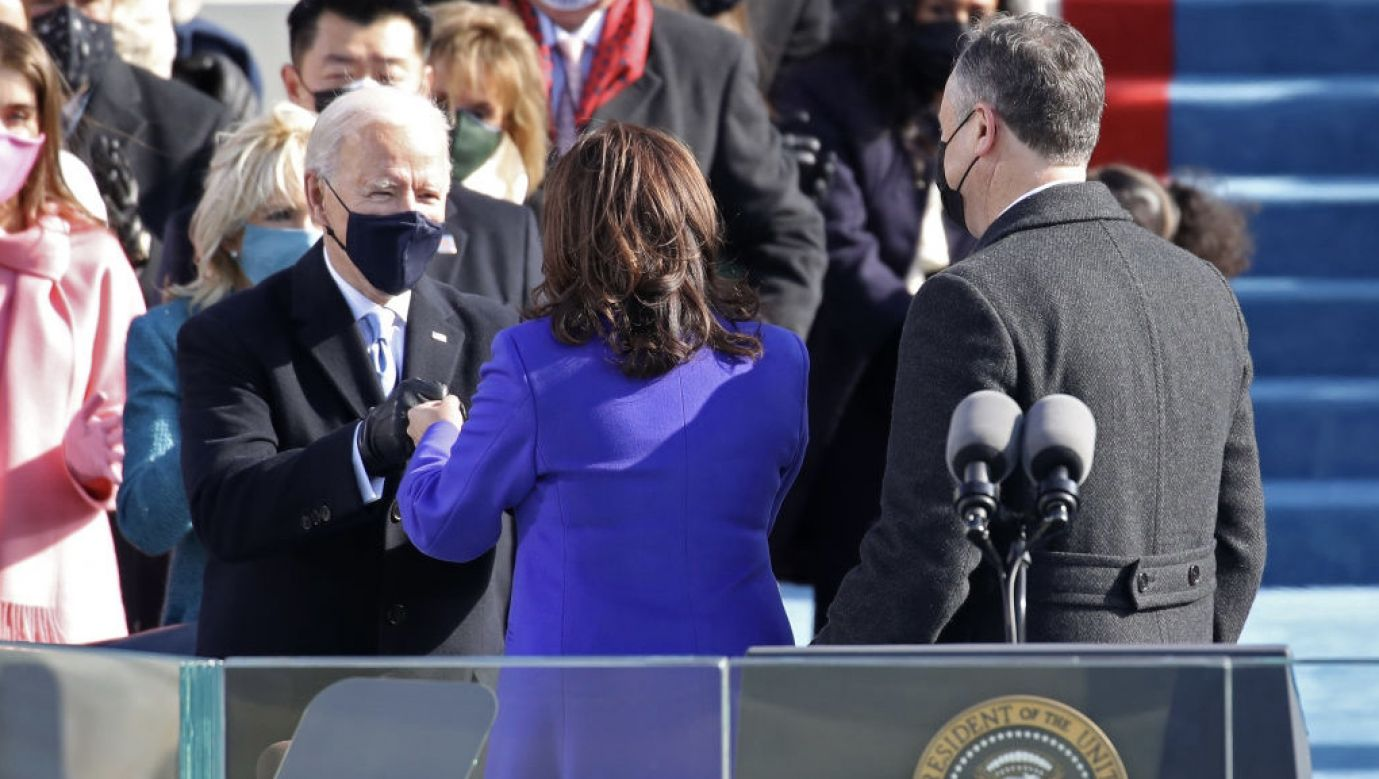 Joe Biden 46. prezydentem Stanów Zjednoczonych (fot. Getty Images)