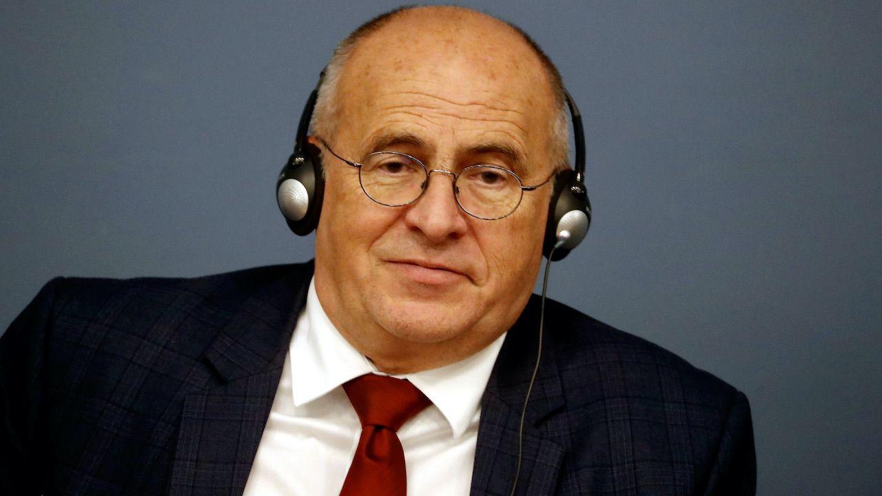 Szef MSZ Zbigniew Rau (fot. PAP/EPA/Toms Kalnins)