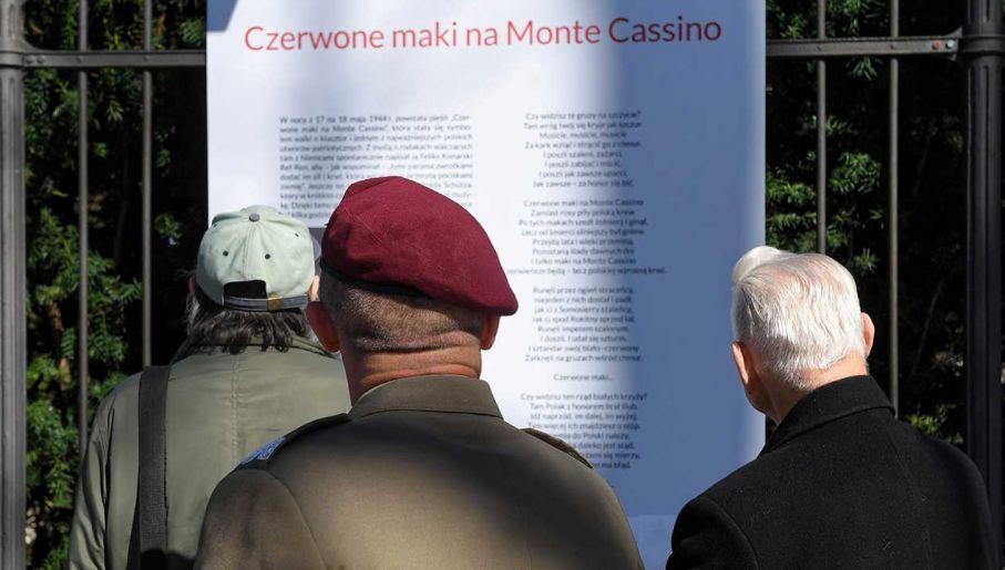 W łazienkach Królewskich Otwarto Wystawę Monte Cassino W